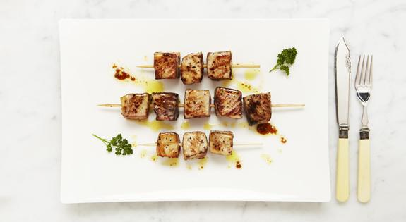 Brocheta de pez espada al jengibre blog genuinusblog for Cocinar pez espada