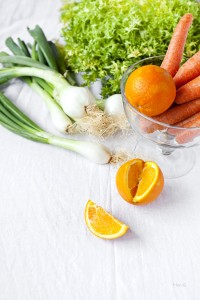 naranjas y zanahorias