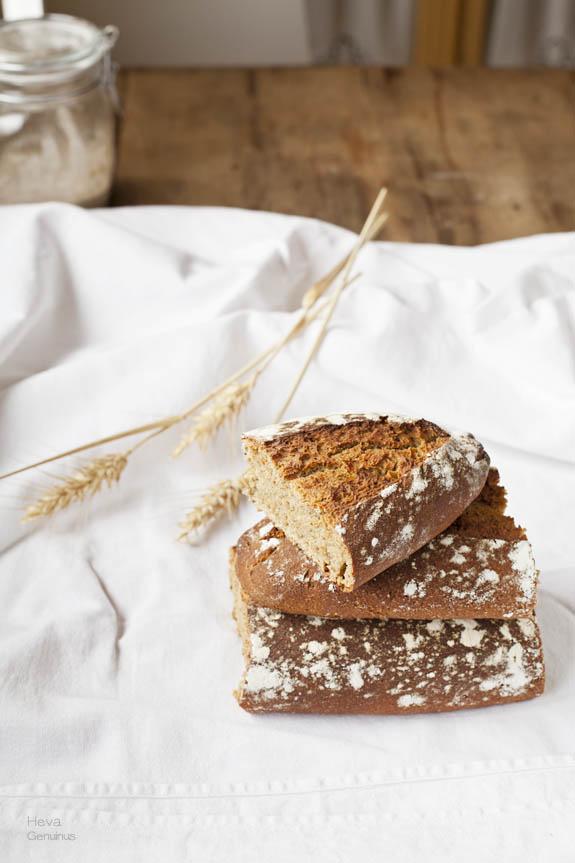 Pan de Kamut integral Heva