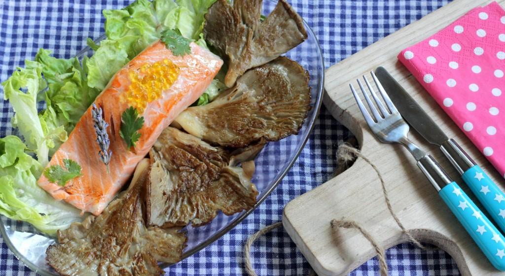 salmon-setas-plancha-genuinus