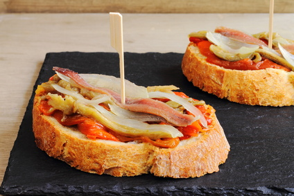 Spanish tapas or pinchos
