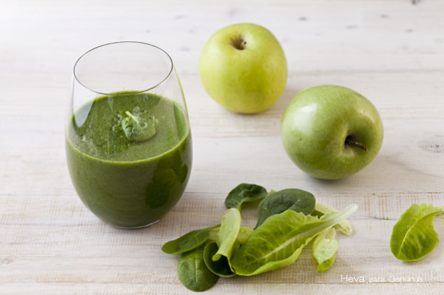 Batido de manzana verde