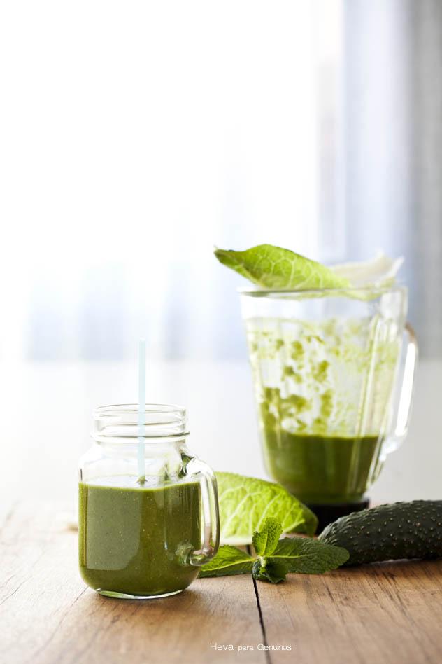 Batido verde detox