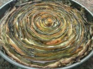 Espiral cocida